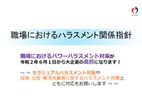 職場におけるハラスメント関係指針[PDF形式:862KB]